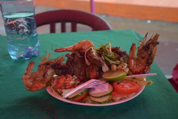 The Ruta de las Flores food festival in Juayua