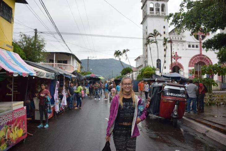 juayua in the ruta de las flores, el salvador