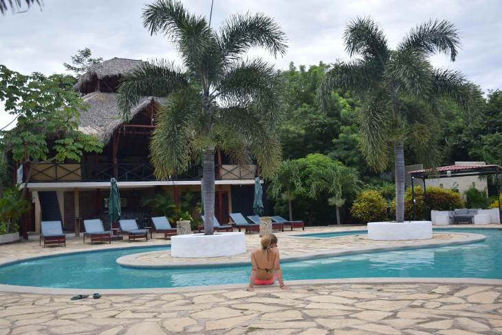 After Sunday Funday San Juan del Sur I needed some pool relaxation time.
