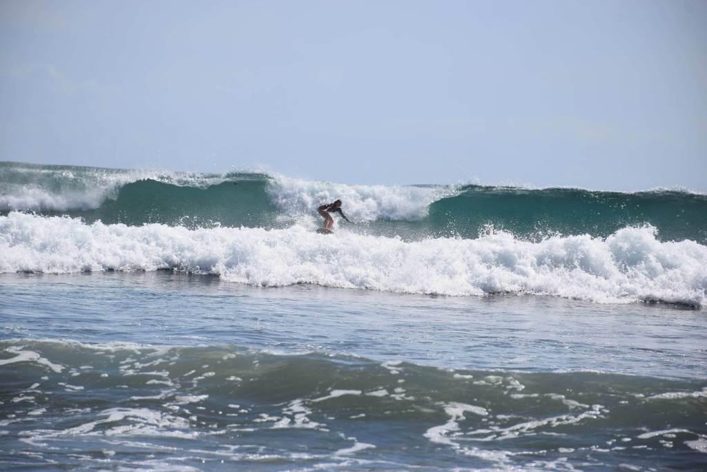 Now that is surfing in San Juan del sur