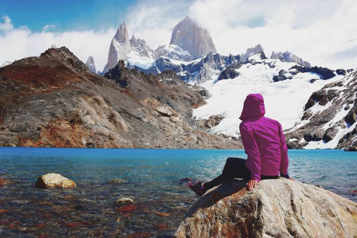 Hiking in south america