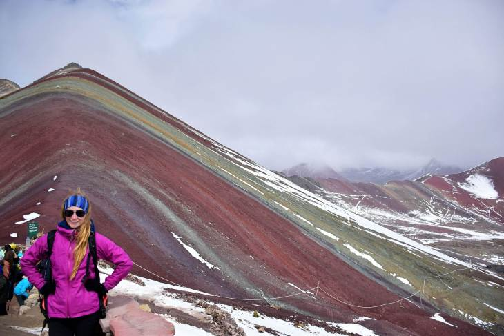 one of the best hikes in south america is the newly discovered rainbow mountain