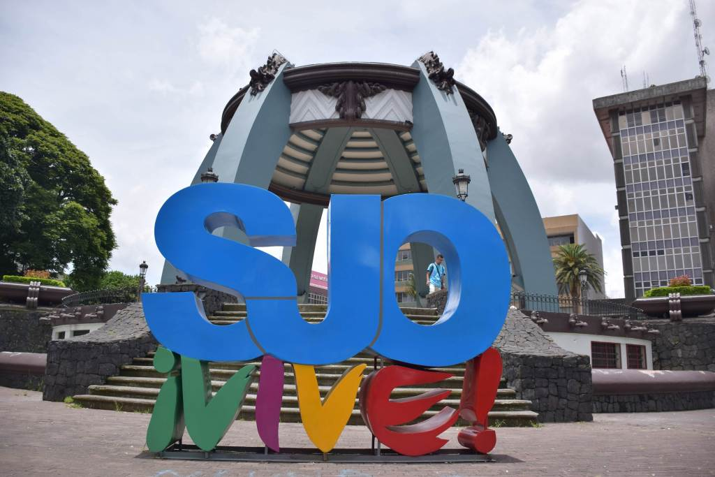 sign in San jose costa rica
