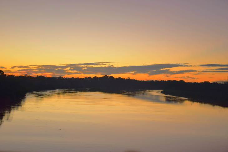 peru travel photo gallery sunset