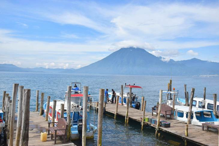 explore the island by boat, one of the things to do in lake atitlan