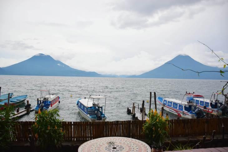 stay on a lakeside hotel at lake atitlan