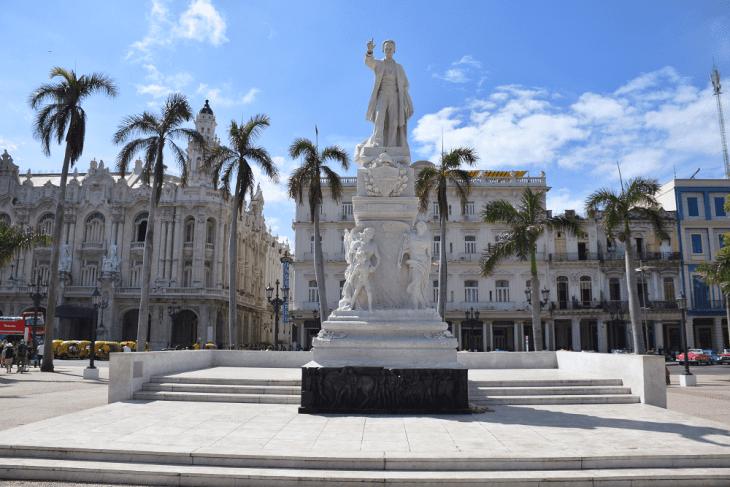 The main square in Old Havana