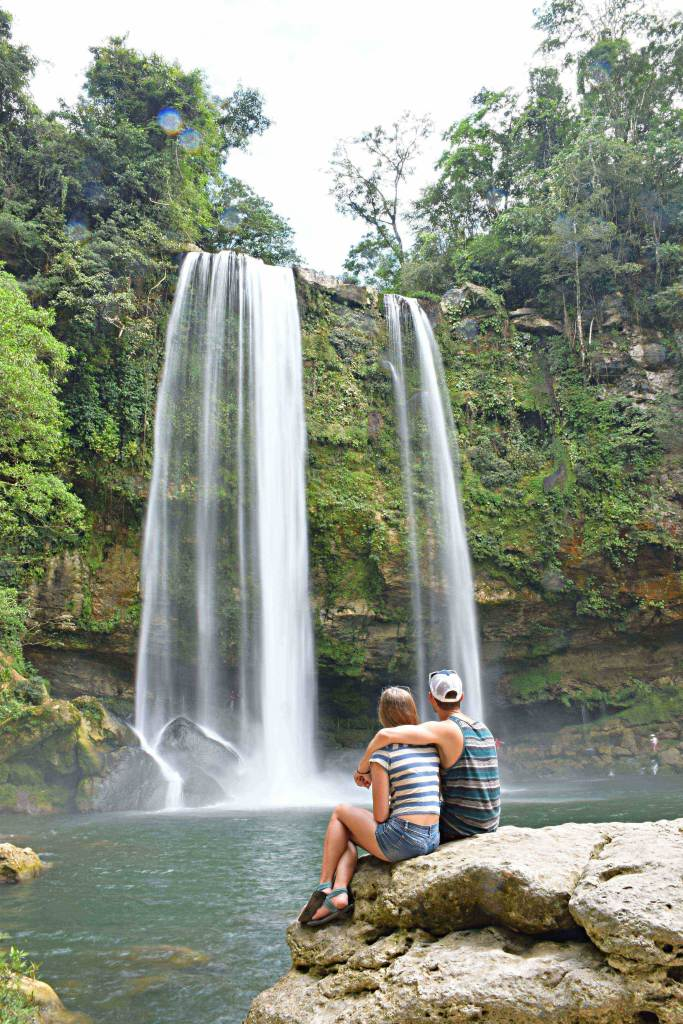 The most beautiful Palenque waterfall
