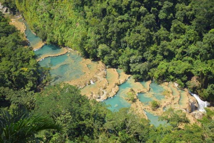 the bird's eye view of semuc champey