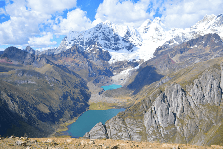 hiking in huaraz peru