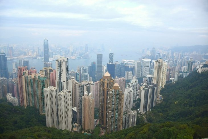 hong kong photo gallery of victoria peak