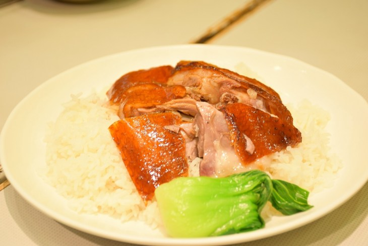 roasted goose in Hong Kong is amazing!