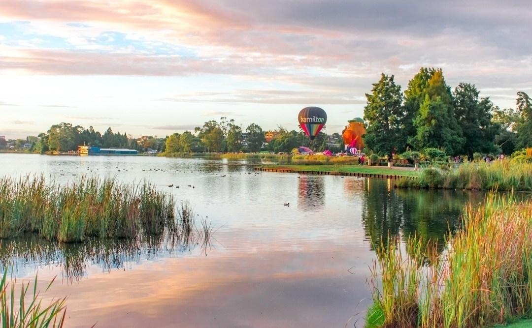 the hamilton hot air balloons festival