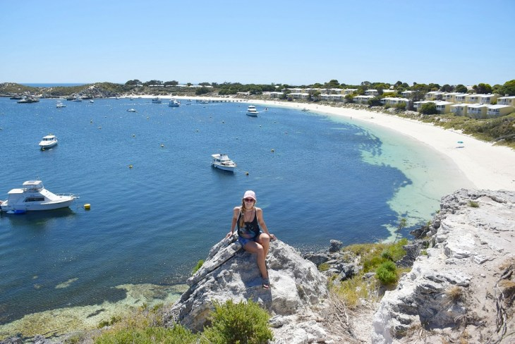 beautiful view on rottnest island