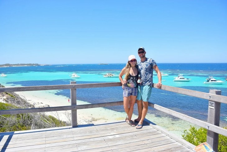 the lookout on rottnest island