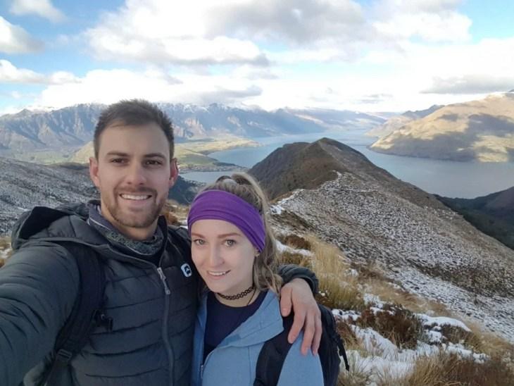 ben lomond hike selfie