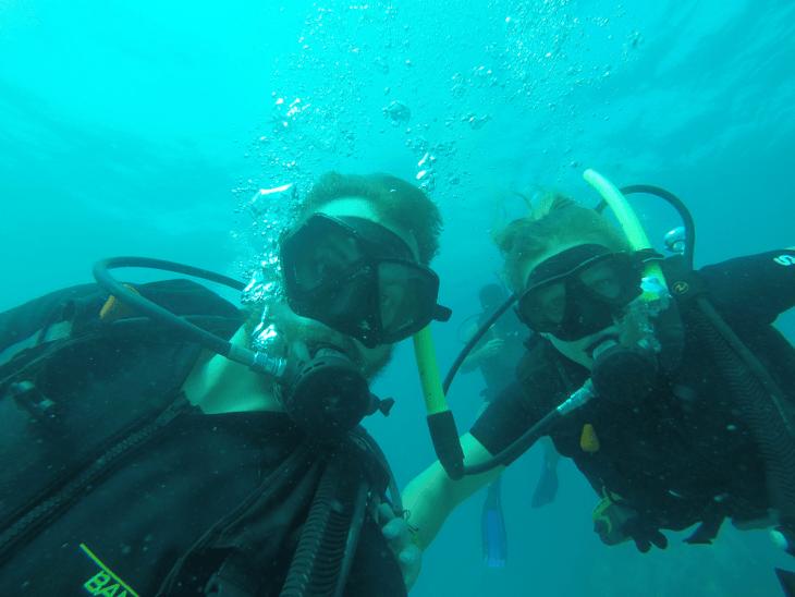 scuba diving in koh tao