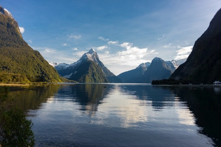 getting to milford sound