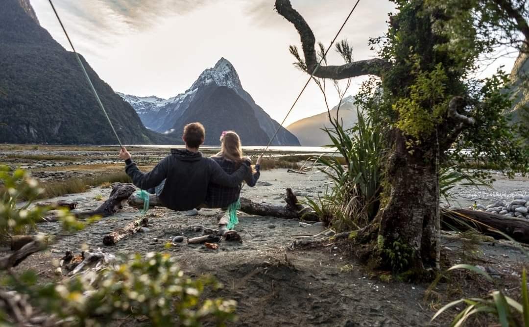 Milford Sound Swing