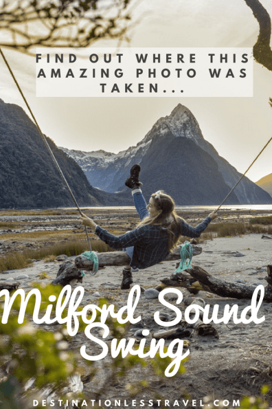 milford sound swing