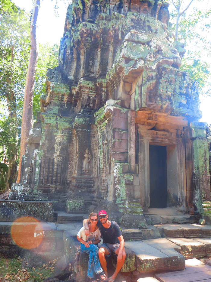 awesome ruins in cambodia