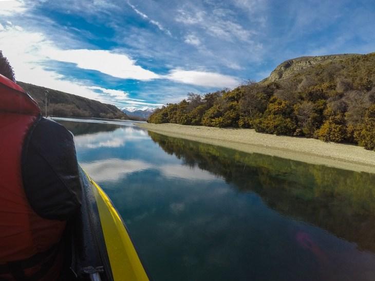 beautiful scenery from lake wakatipu