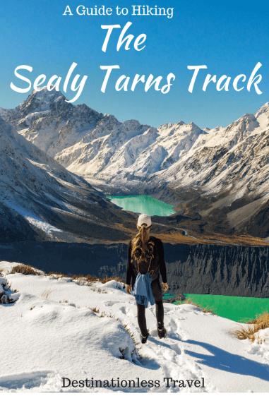 sealy tarns track new zealand pinterest