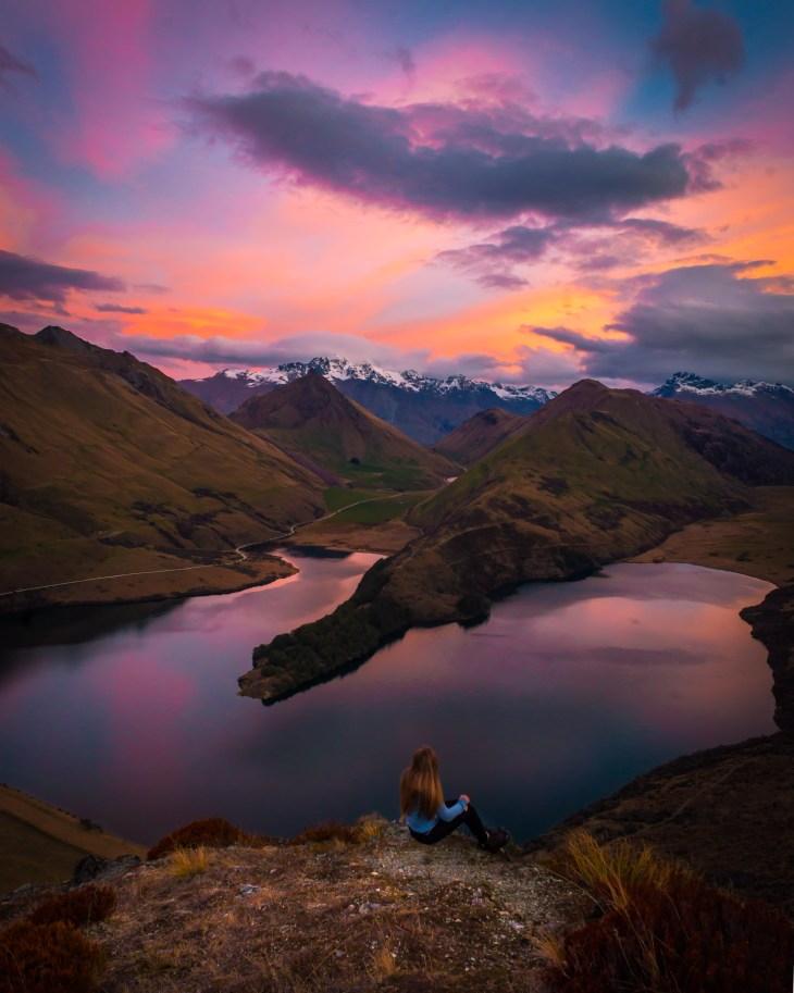 moke lake is one of the most instagramable spots in queenstown