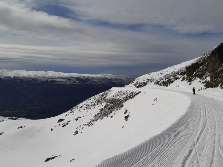 the over run at cardrona