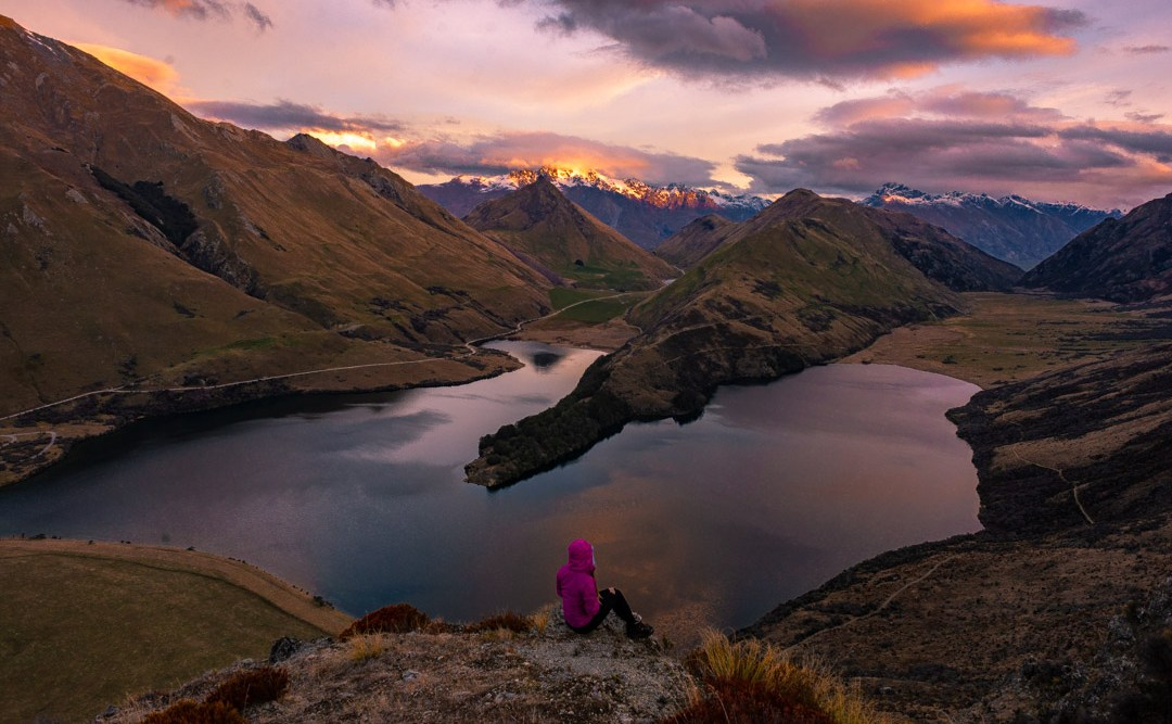 the most beautiful lookout at moke lake