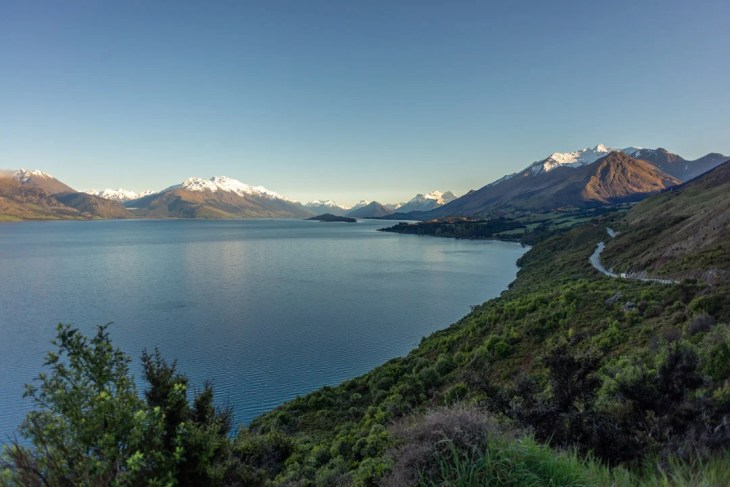 the windy road to glenorchy