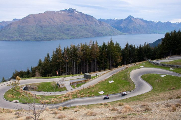 the lge is one of the many different cheap things to do in queenstown