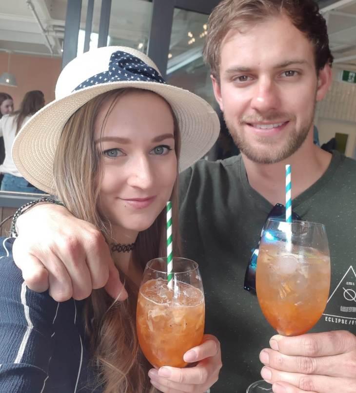 Summer drinks in
