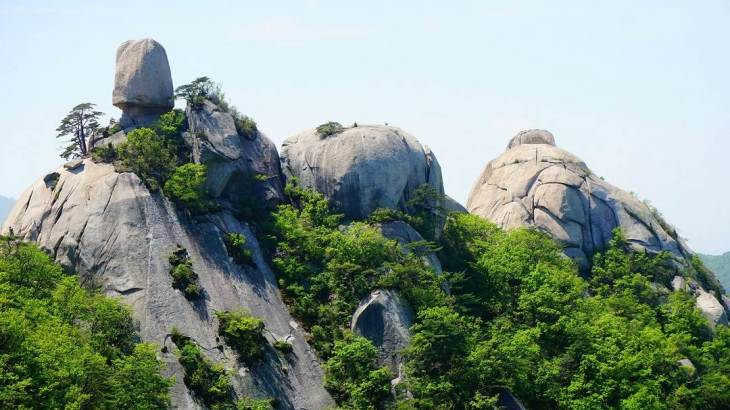 Bukhansan National Park is one of the best things do in south korea for a solo traveler