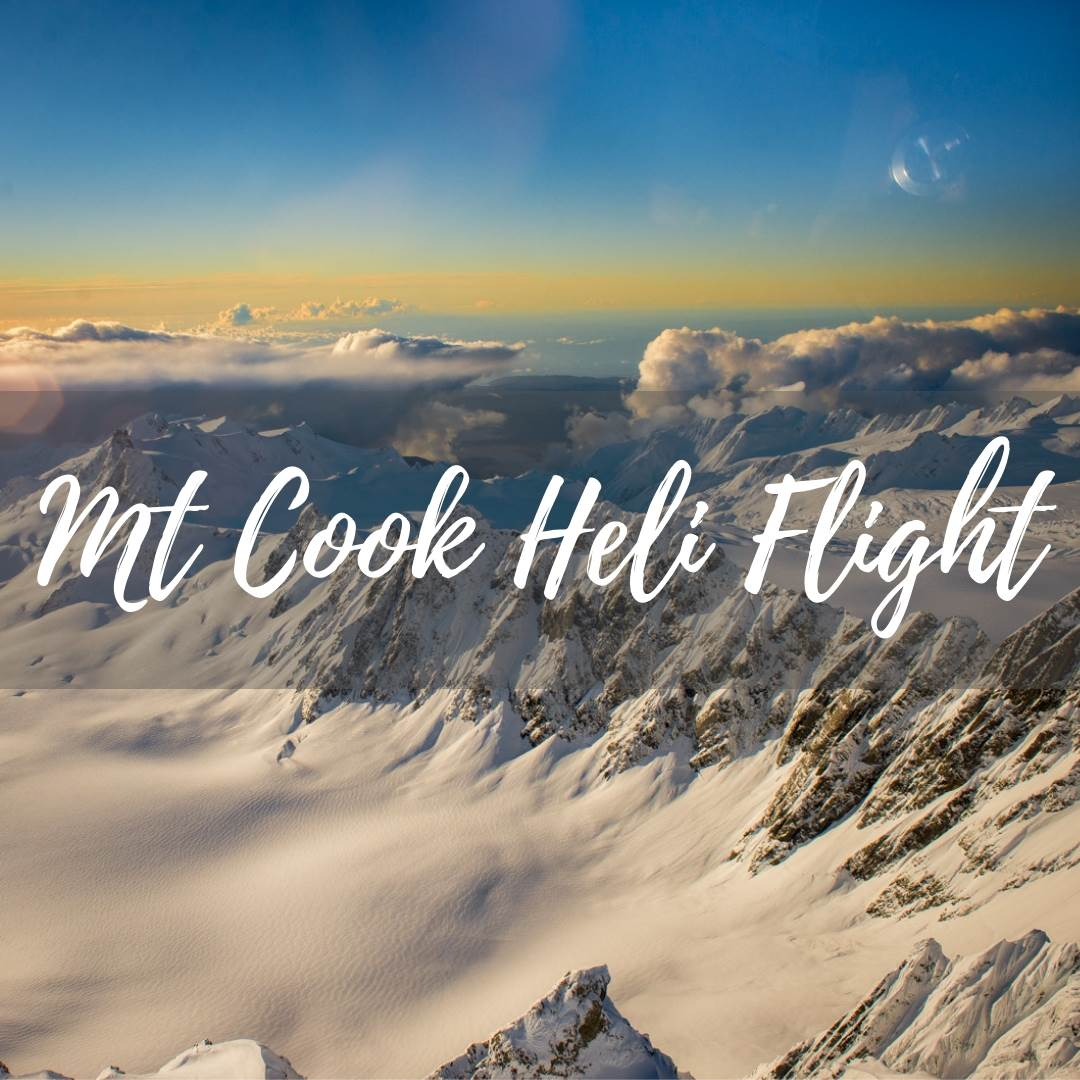 Mount Cook Heli Flight on our travel blog