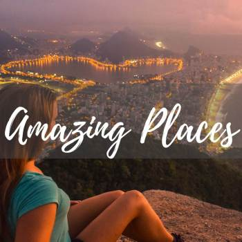 As travel bloggers we visit many amazing places - see them here