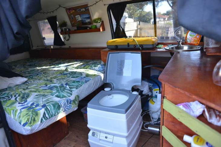 guidelines to getting a van self contained in New Zealand