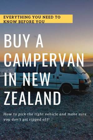 buysing a campervan in new zealand pin