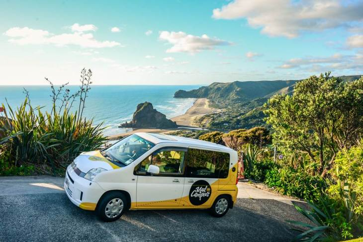 This single-berth campervan is actually a car! It is so much easier to drive!