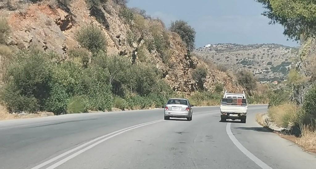Conduire en Crète