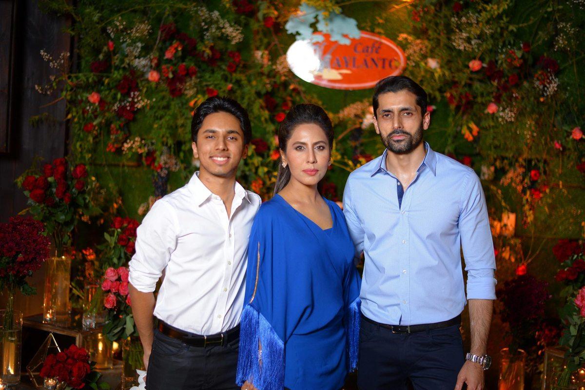 Zain , Sobia and Hamood