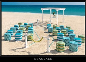 Sea Glass Colin Cowie Wedding Collection