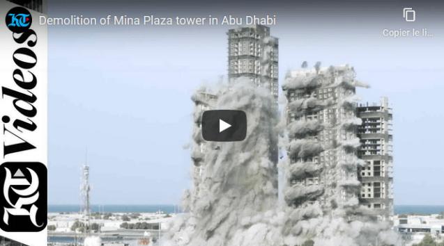 VIDÉO – Abu Dhabi : spectaculaire démolition d'une tour de 144 étages