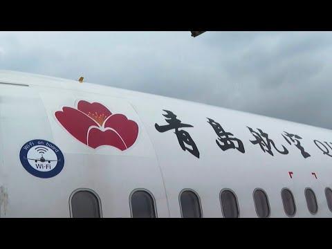 Un avion équipé d'internet à haut débit par satellite, une première en Chine (Vidéo)