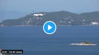 Époustouflantes images d'un atterrissage sur une île grecque cette semaine (Vidéo)