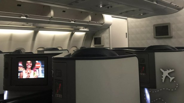 Delta One cabin on 777