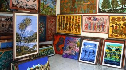 Selection of Indonesian Baktik art