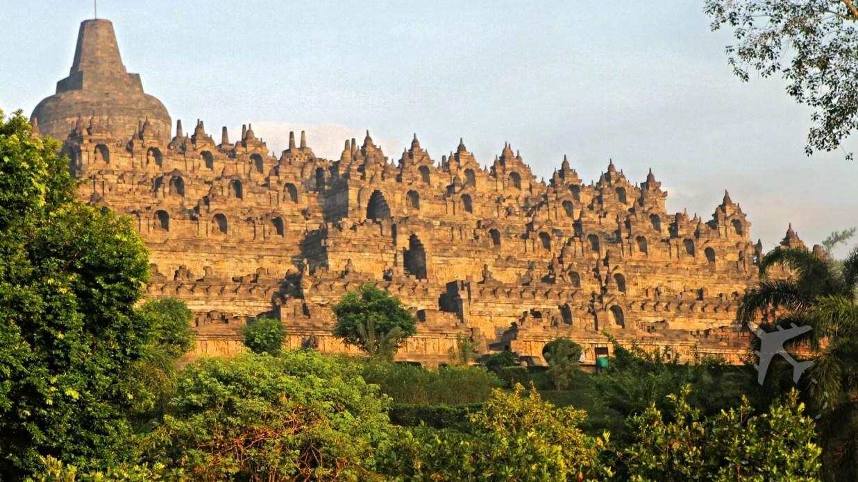 Candhi Borobudur in Indonesia