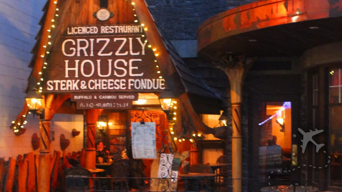 Grizzly House steak and fondue