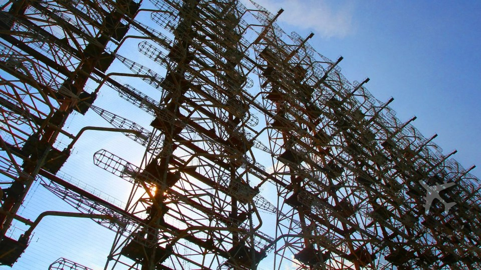 50-story tall Duga-1 radar array